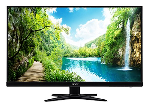 Acer UM.HG6AA.K03 G276HL Kbmidx 27″ Full HD (1920 x 1080) VA Zero Frame Monitor with Built-in Speakers (HDMI, DVI & VGA Ports)