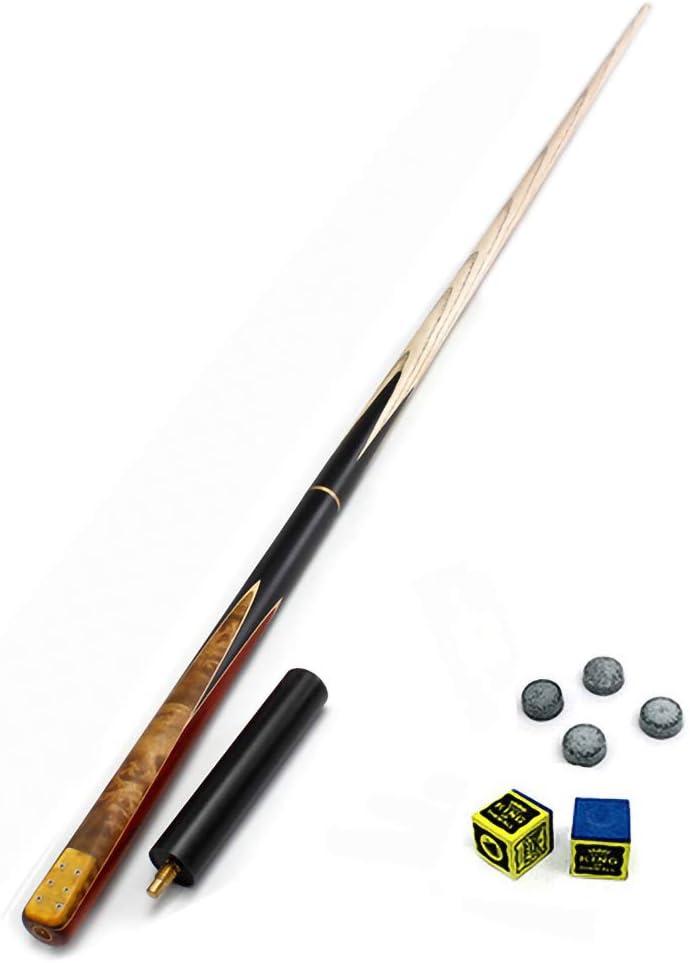 ZMg Ash wood Taco de Billar,57 Pulgadas 18-19 Oz 11.5mm Snooker Palos de Billar/B/S: Amazon.es: Bricolaje y herramientas