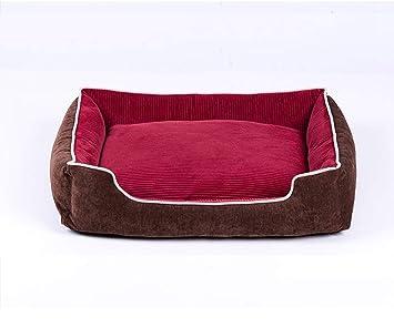 Juzhen Cama para Perros Mascotas y Gatos, sofá Cama súper Suave para Gatos, Tumbona