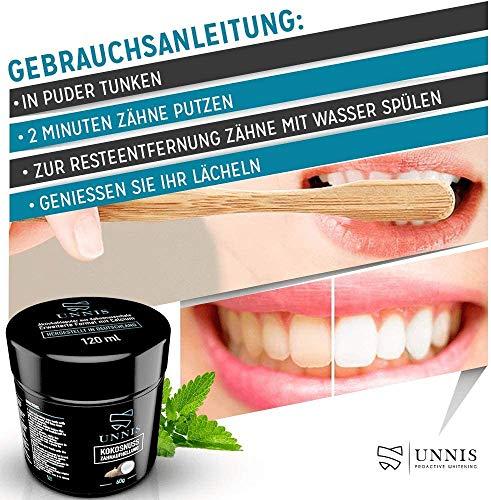 Blanchiment Dentaire Professionnel Blanchisseur de Dents Dentifrice Charbon Actif Poudre pour Dent Blanche Dentifrice…