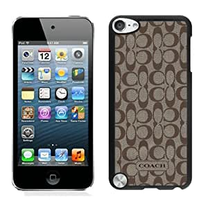 Beautiful Designed Case With Coach 61 Black For iPod Touch 5 Phone Case