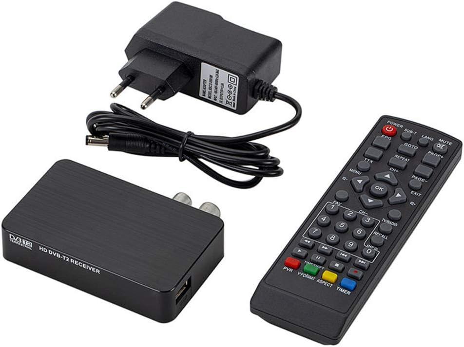 Prise Europ/éEnne Adanse K2 DVB-T T2 R/éCepteur TV Vid/éO Num/éRique 3D Terrestre MPEG4 PVR HD 1080P D/éCodeur TV Box