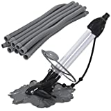 Best Choice Products Automatic Hover Wall Climb Inground Swimming Pool Cleaner Vacuum w/ 33ft Hose - Black/Gray