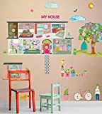 Oopsy Daisy Peel and Place Boho Modern Dwelling by Maia Ferrell, 54 by 60-Inch