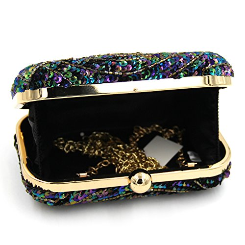 Ball With Unique Purse Lock Women Gold Handbag Kiss Crossbody Clutches Shoulder Evening Bag wqTHx5C6ZH