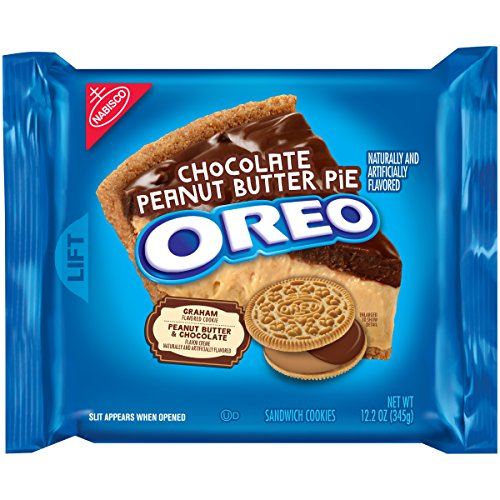 Peanut Butter Pie Filling - Oreo Chocolate Peanut Butter Pie Sandwich Cookies, 12.2 Oz