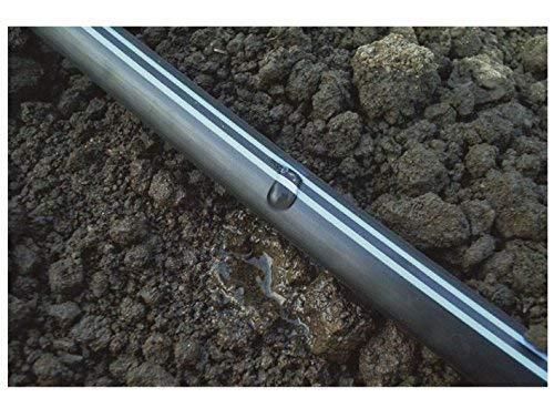 CINTA GOTEO 16mm riego Longitud 500 mts Galga espesor de pared 8 mil GOTEROS CADA 20 cm Tuberia plana con caudal 1,16 litros por hora