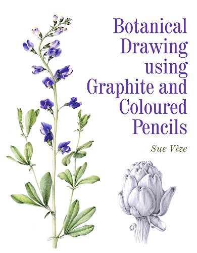 Botanical Drawing Using Graphite and Coloured Pencils [Sue Vize] (Tapa Blanda)