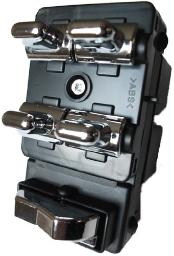 SWITCHDOCTOR Window Master Switch for 1998-2002 Lincoln Town Car (1998 1999 2000 2001 2002 98 99 00 01 02 signature, executive, cartier, Drivers side, button, panel, door, lock) ()
