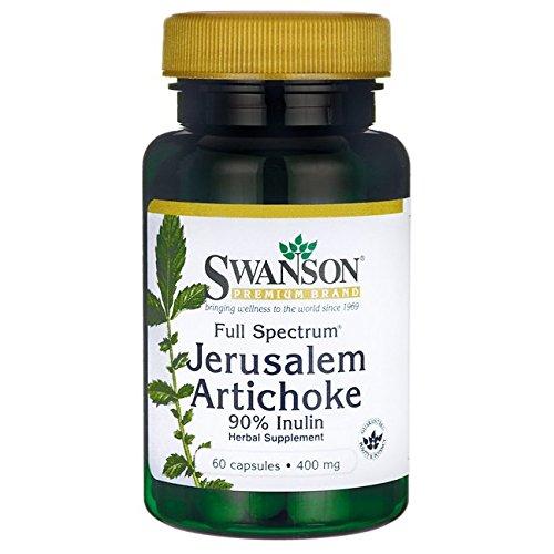 Swanson Full Spectrum Jerusalem Artichoke 400 Milligrams 60 Capsules For Sale