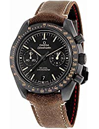 Speedmaster Moonwatch Co-Axial Black Dial Chronograph Automatic Mens Watch 31192445101006