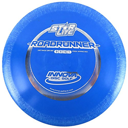 INNOVA Starlite Roadrunner Distance Driver Golf Disc [Colors May Vary] - 140-150g