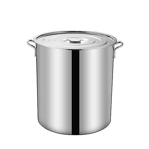Cubo de sopa de acero inoxidable Engrosamiento Cubo de sopa ...
