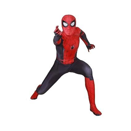 JUFENG Nuevo Adulto Niños Spider-Man 2019 Traje De Halloween Traje De Impresión 3D Spandex Lycra Spiderman - Traje Cosplay Traje,C-Adult/XL