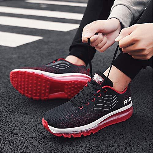 Rouge Hommes Entraneurs Course Marche Baskets Fitness Sportifs De Gym Chaussures Femmes 6HpTWvrc6