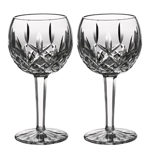 Waterford Crystal Lismore Classic Balloon Wine Glass Set of 2