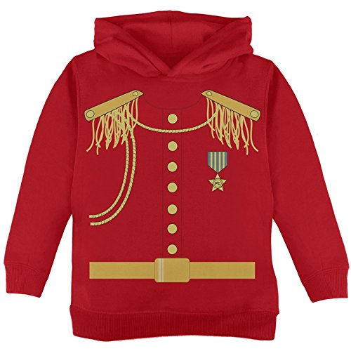 Old Glory Halloween Prince Charming Costume Red Toddler Hoodie - 2T ()