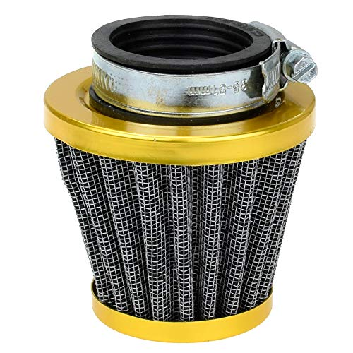 - 38mm Golden Air Filter Intake Induction Kit for gy6 49cc 50cc Tao Tao 50 ATM Thunder Jonway Chinese Scooter Moped Off-Road Motorcycle ATV Quad 125cc 110cc Dirt Pit Bike