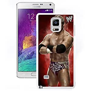 Unique Design Samsung Galaxy Note 4 Cover Case Wwe Superstars Collection Wwe 2k15 Zack Ryder in White Samsung Galaxy Note 4 N910A N910T N910P N910V N910R4 Protective Phone Case