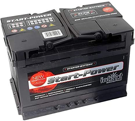 intact Premium Power PP75MF Autobatterie 12V 75Ah 720A//EN