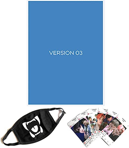 CD,Photobook ver.1 BTS MAP of The Soul : 7 - Folded Poster Photocard Set Others with Extra Decorative Sticker Set