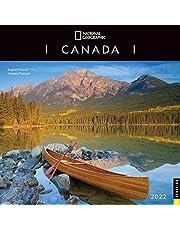 National Geographic: Canada 2022 Wall Calendar