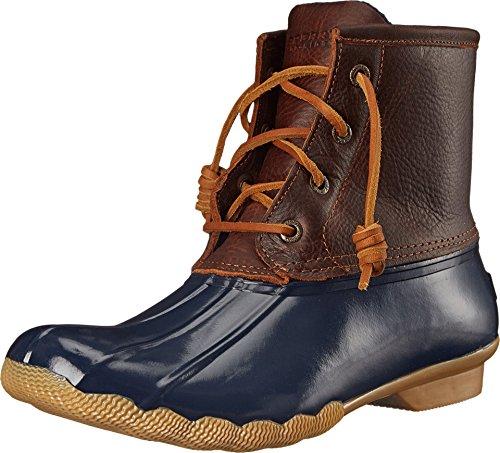 - Sperry Top-Sider Women's Saltwater Rain Boot, Tan/Navy, 8.5 M US