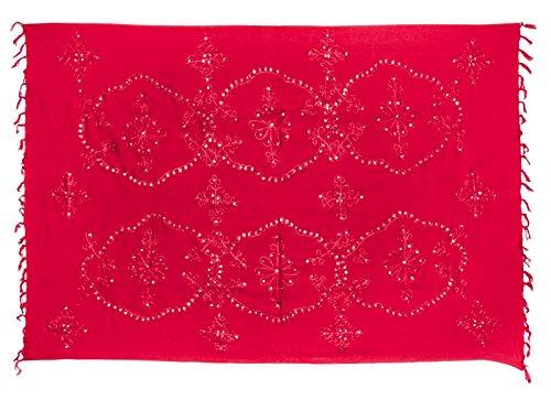 Kascha Trading - Camisola - para mujer Rojo