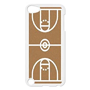 Kweet basketball court Would be cute to cover the table Cases For Ipod Touch 5 Shock Absorb, Case For Ipod Touch 5 For Teen Girls With White