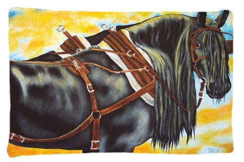 Carolines Treasures Days End Horse Fabric Standard Pillowcase AMB1238PILLOWCASE Multicolor