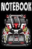 Gazoo Racing: Journal, 6x9 120 Pages