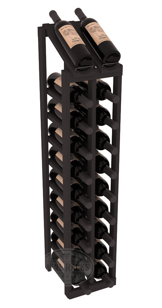 Wine Racks America Ponderosa Pine 2 Column 10 Row Display Top Kit. 13 Stains to Choose From!