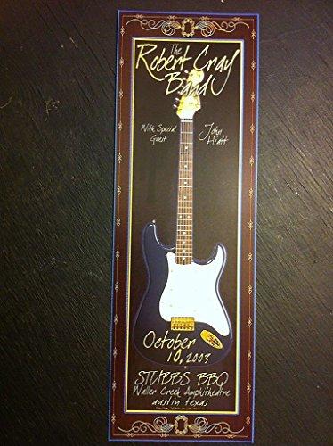 Robert Cray John Hiatt Rare Original Ltd Ed Austin Texas Blues Concert Poster (Ed Rare Ltd)
