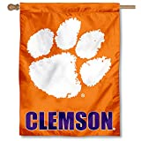 Clemson University Tigers House Flag