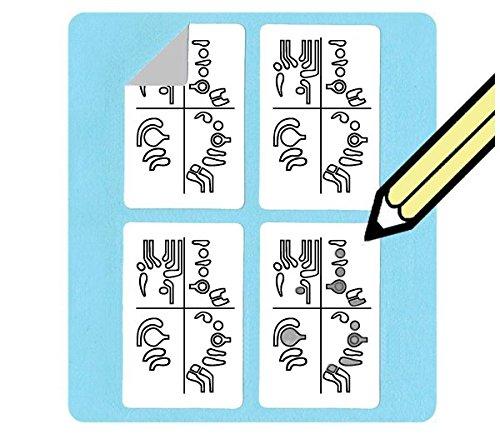 Bassoon Fingering Diagram Stickers (156 sticker pack) Whirlwindpress.ca