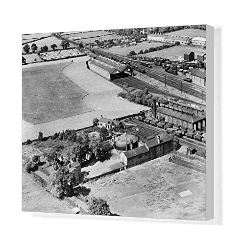 - Media Storehouse 20x16 Canvas Print of Gasworks, Craven Arms EPW061708 (13701898)