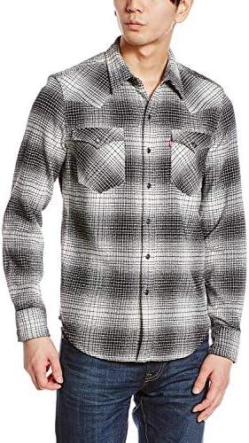 クラシック ウエスタン ネル シャツ 長袖 [メンズ] (66986-0049 Gray Flannel 【US XL-(日本サイズXXL相当)】)