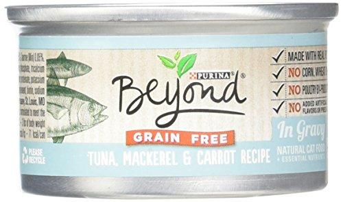 Purina Beyond Natural Canned Cat Food, Grain Free, Tuna, Mac