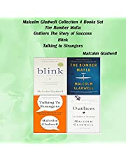 Malcolm Gladwell Collection, 4 Books Set: The Bomber Mafia, Outliers the Story of Success, Blink, Talking to Strangers