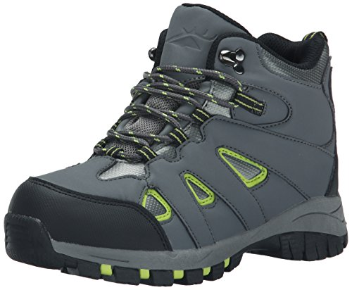 Deer Stags Drew Hiker Boot (Little Kid/Big Kid), Grey, 1.5 M US Little Kid