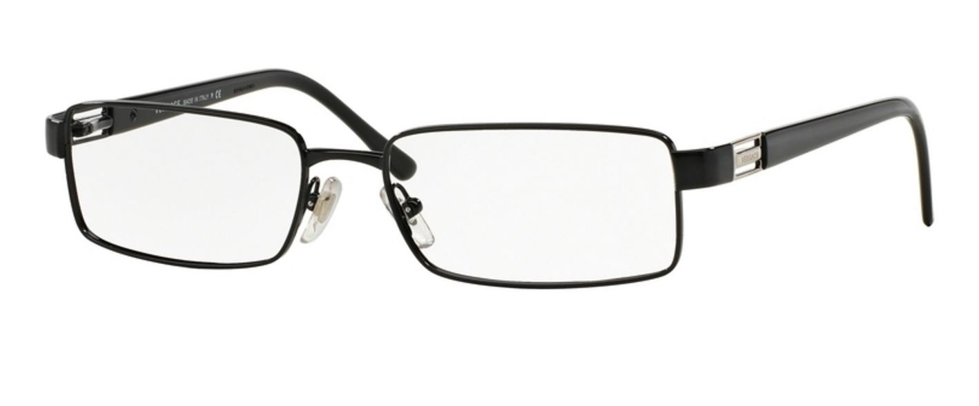 Amazon.com: Versace Men\'s VE1120 Eyeglasses Black 54mm: Health ...
