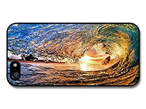 AMAF ? Accessories Big Wave to Surf In Sunset case for iPhone 6 plus 5.5