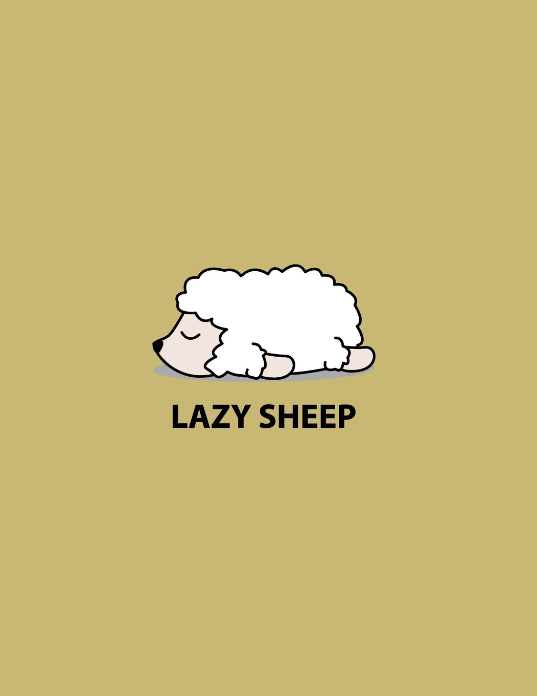 Lazy sheep: Lazy sheep on yellow cover and Dot Graph Line Sketch pages, Extra large (8.5 x 11) inches, 110 pages, White paper, Sketch, Draw and Paint (Lazy sheep on yellow notebook) (Volume 4) pdf epub