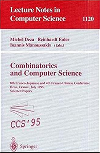 Combinatorics and Computer Science: 8th Franco-Japanese and