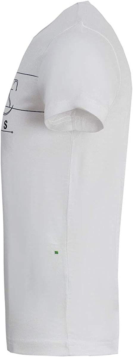 Hugo Boss Mens t-Shirt Tee 1 White 50399291 100