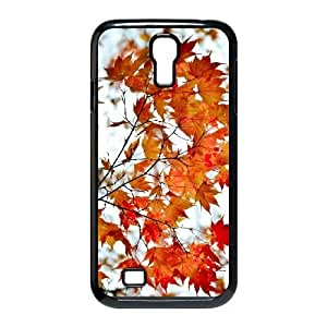 Maple Tree Branch Samsung Galaxy S4 9500 Cell Phone Case Black Wglao