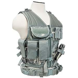 VISM by NcStar Tactical Vest, Digital Camo Acu, XX-Large (CTVL2916D)