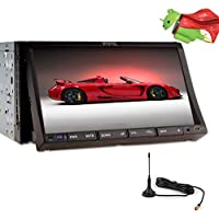 Android 5.1 3D Navigation GPS DVD Player In Deck Car Video Electronics Auto Radio MP3 Music 2 Din In Dash Car Stereo CD Autoradio Automotive Parts Multimedia Headunit 7 Mirroring Wi-Fi DVB-T ISDB-T
