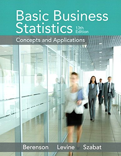 321870026 - Basic Business Statistics (13th Edition)