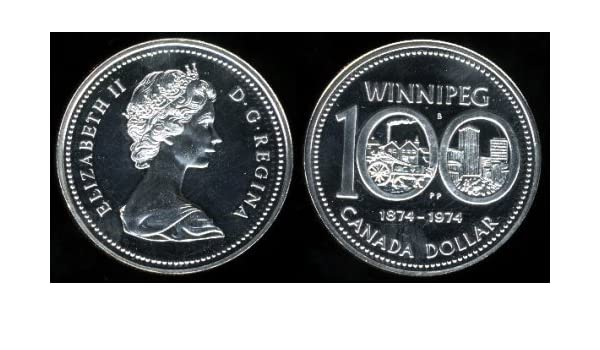 City Of Winnipeg Coin Set In Many Styles Coins & Paper Money 1974 Royal Canadian Mint 100th Anniversary